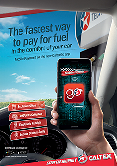 The new CaltexGo mobile fuel payment app will be launched to the public in October, 2018.