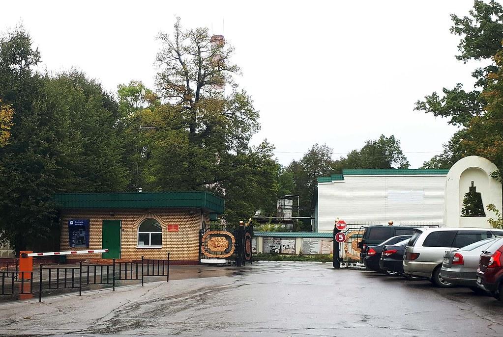Санаторий и монастырь на горе Сторожи около Звенигорода: рекогносцировка предполагаемого места отдых