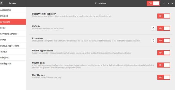 Ubuntu-Gnome-Tweak-Tool-Extension-Tab