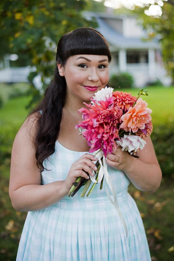pastel pink bouquet