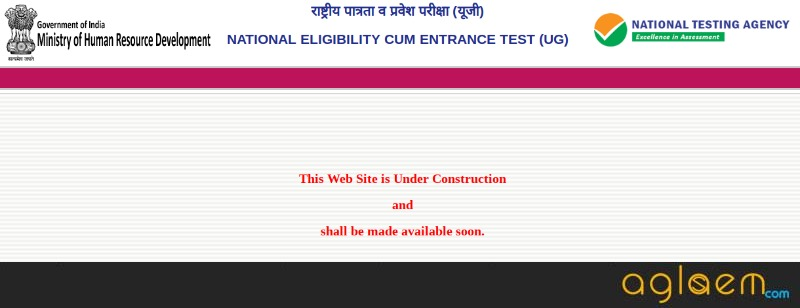 NTA launches NEET 2019 new website (ntaneet.nic.in); Registration to begin from November 01