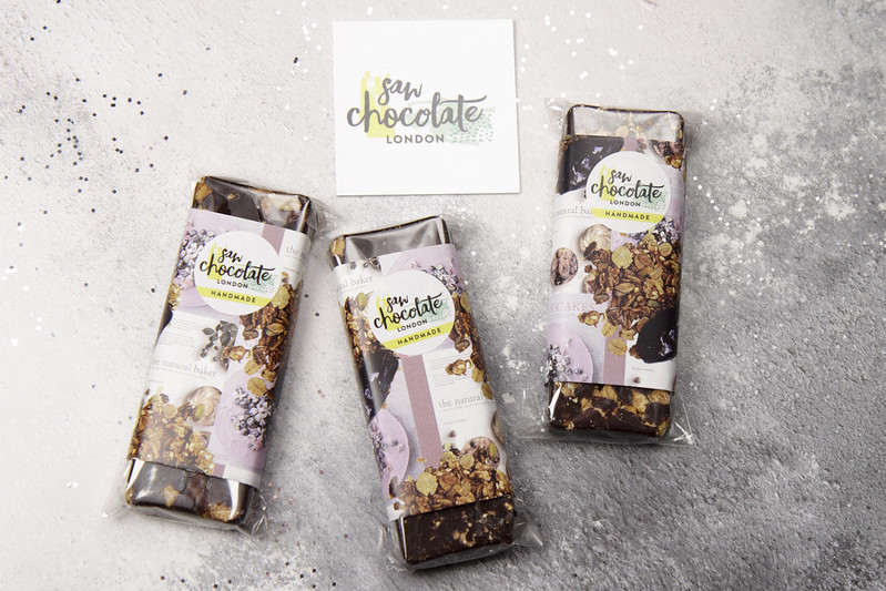 Granola chocolate from SAW Chocolate