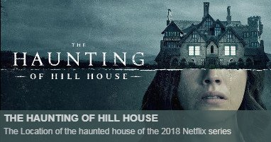 Haunting Hill House Locations
