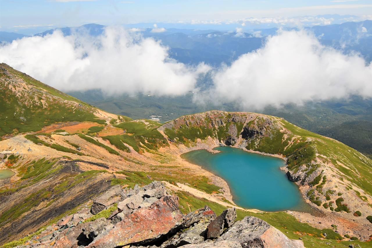 美しい御嶽山の三ノ池