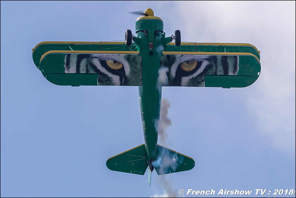 Boeing B-75 N1 Stearman F-AZGR Meeting de l Air BA-133 Nancy Ochey 2018 FOSA Armee de l Air Canon Sigma France contemporary lens Meeting Aerien 2018