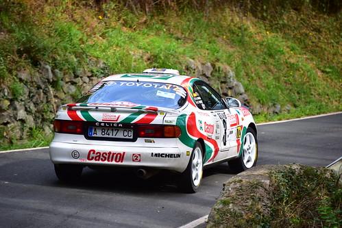 Fernando Perez - Asier Camara, Toyota Celica GTI 16V, XXV Rallye de Gernika 2018