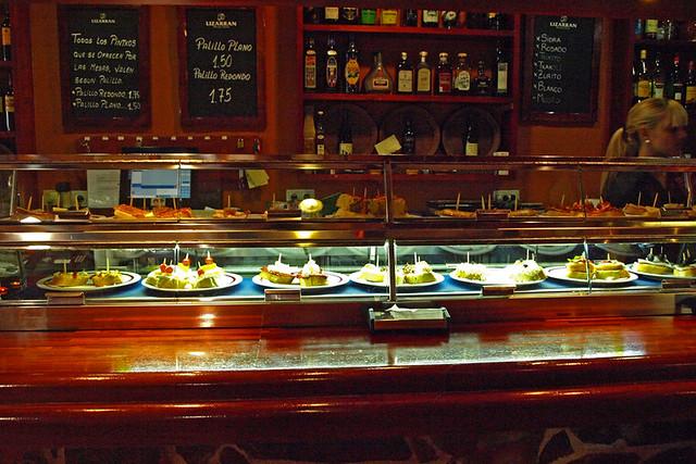 Pintxos restaurant, Tenerife