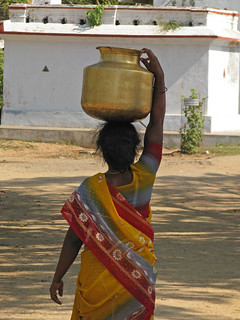 India - Sights & Culture - 32 - woman fetching water | by mckaysavage