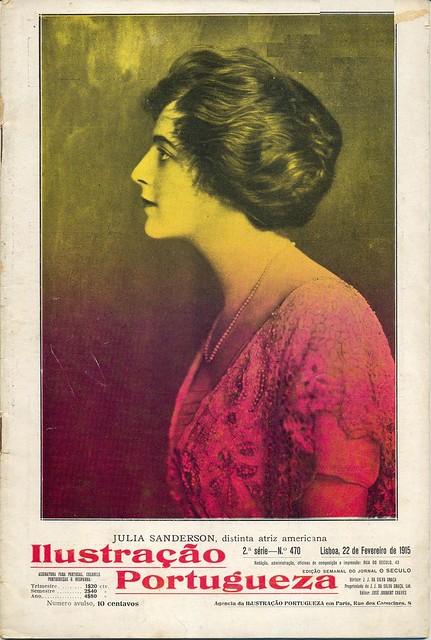 Ilustração Portugueza, No. 470, February 22 1915 - cover