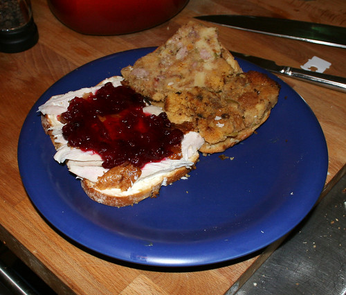 Thanksgiving Leftover Sandwich Porn, Volume 2, Open Faced -2769