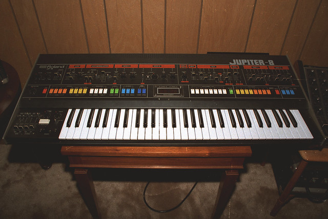Roland Jupiter-8 Synth, 1983