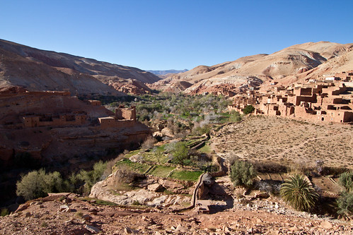 Berber Village and fields | by RobRoyAus