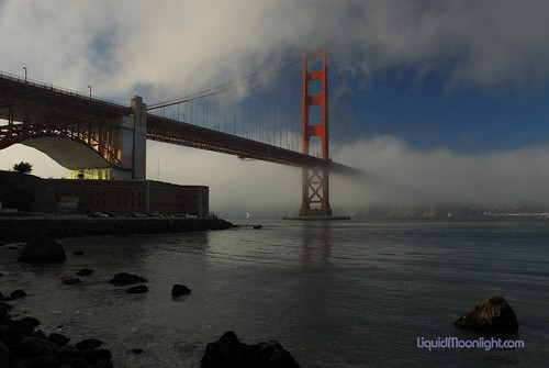 Fog and Steel - Golden Gate Bridge, California | by Darvin Atkeson