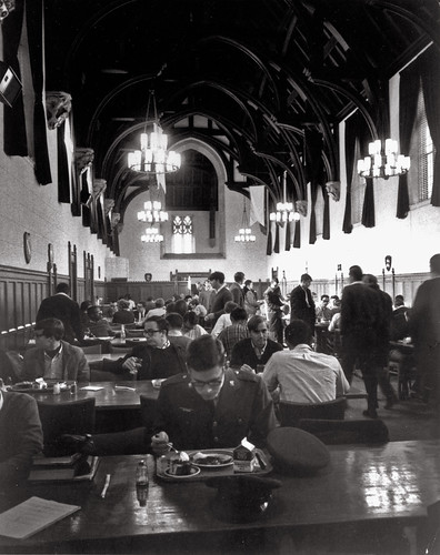 Dining in the Great Hall, undated | Flickr - Photo Sharing!