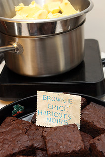 spiced black bean brownies | by David Lebovitz