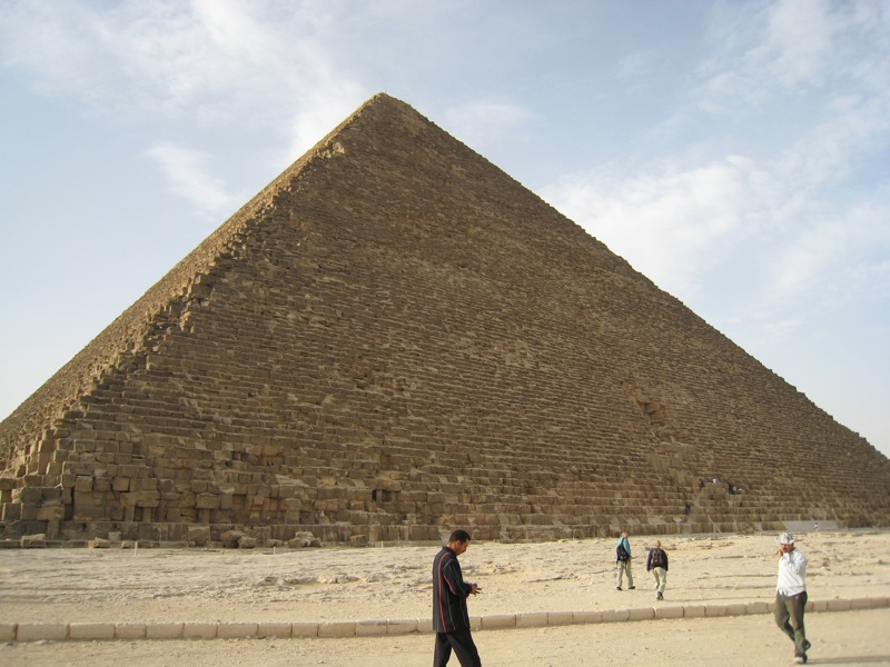 The Great Pyramid: Last of the Seven Wonders