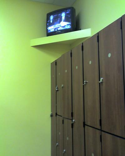 Gym Locker Room Man