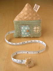 House Tape Measure 28 | by PatchworkPottery