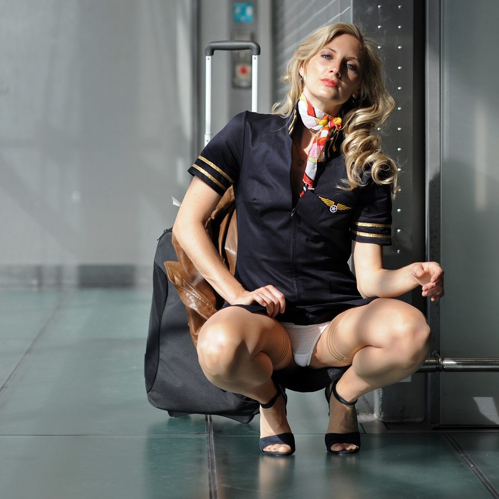 nackt, air stewardess sex