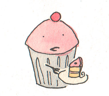 Cupcake Eating Cake | by cakespy
