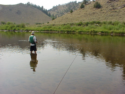 Blue ribbon fishing w out fish northgate canyon color for Blue creek fishing report
