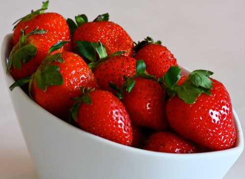 My first strawberries of this season... | by Anushruti RK