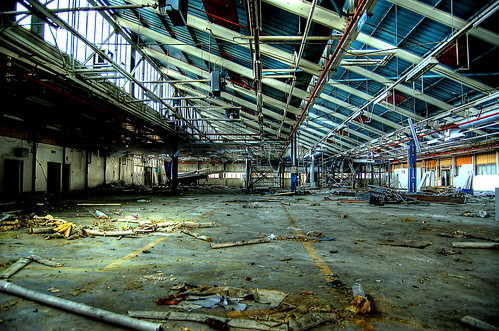 Abandoned factory in Lurgan | by slinky2000