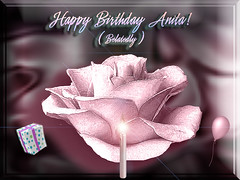 Happy Birthday Anita (aeshaul) | by fantartsy JJ *2013 year of LOVE!*