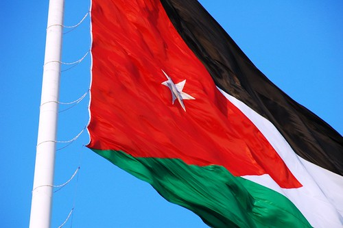 Jordanian flag | by anjči