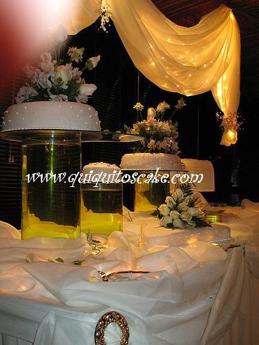 Decoraci n de sal n y elaboraci n de tortas de boda flickr for Decoracion de salon para boda