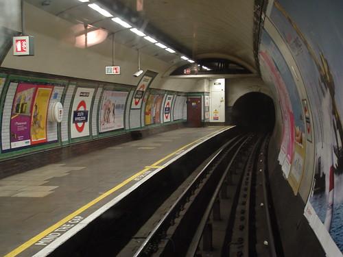 South Wimbledon Tube Station London Underground