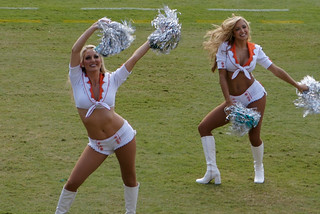 Miami Dolphins Cheerleaders (Clearly The ONLY Thing Going for This Team Right Now...) | by Skaines