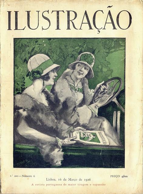 Ilustração, No. 6, Março 16 1926 - capa