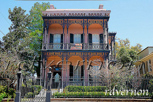 New Orleans Garden District Home Located At 1331 First