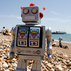 Robot Beach 3 | by AndyWilson