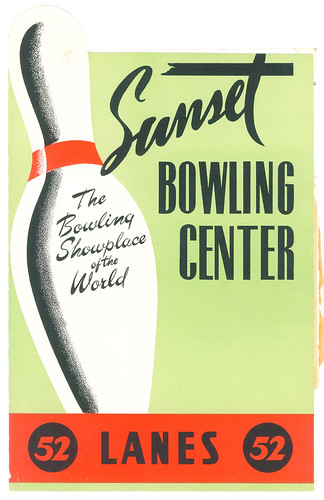 Sunset Bowling Center, Los Angeles | by jericl cat