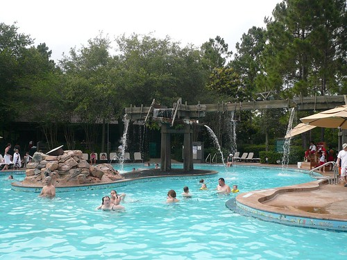 Pool at Walt Disney World Port Orleans Hotel Riverside