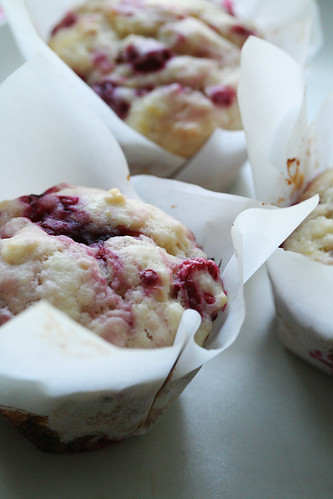 Raspberry-Lemon Muffins | by Isabelle @ Crumb