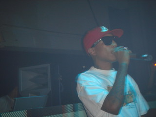 Pharrell at Womb, Shibuya | by karendesuyo