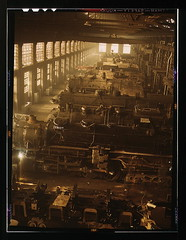 Chicago and Northwestern railroad locomotive shops, Chicago, Ill.  (LOC) | by The Library of Congress