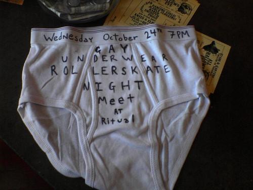 gay underwear night party
