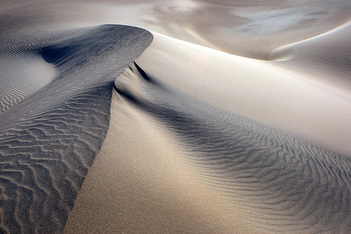 Death Valley Sand Patterns | by Rob Kroenert