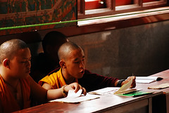 Monks Reading... | by Chaitanya AK