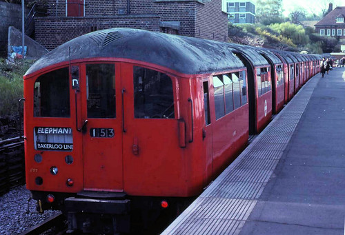 1938 Tube Stock at Stanmore