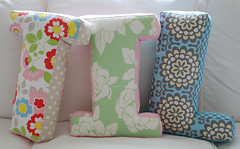Box Letter Cushions | by yvestown