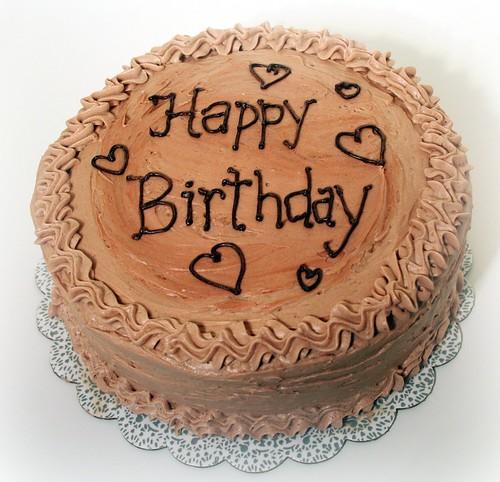 Cake Writing Happy Birthday