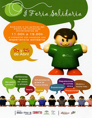 I Feria Solidaria - Cartel | by Kialaya