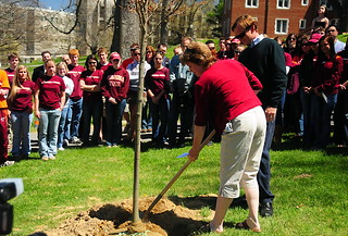 Tree Planting in memory of Austin Michelle Cloyd | by Spector1