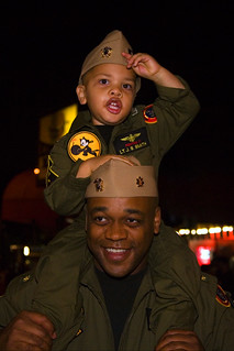 Father & Son Soldiers, Halloween, West Hollywood, 2007 | by Buz Carter