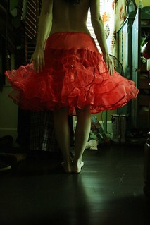 red petticoat | by Soul Pony
